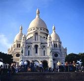 Sacre Coeur i Paris, Frankrike