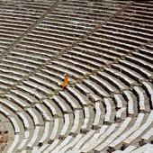 Antika teatern i Epidauros, Grekland