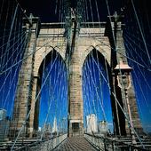 Brooklyn Bridge i New York, USA