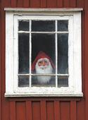 Tomte i fönster