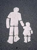 Markering för gångbana