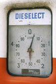 Gammal dieselpump