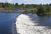Ljusnan i Bollnäs, Hälsingland