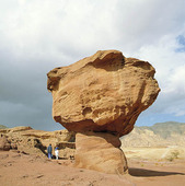 Natur vid Eilat, Israel