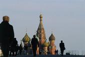 Röda Torget i Moskva, Ryssland