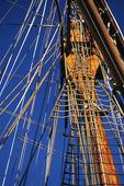Mast på segelfartyg