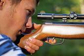 Skjutning med luftgevär