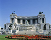 V. Emanuel Monument i Rom, Italien