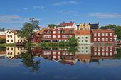 Trähus vid Eskilstuna ån, Södermanland