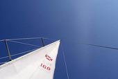 Segel på segelbåt