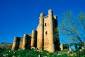 Castle of Valencia de Don Juan, Spanien