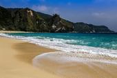 Sandstrand Calayan Island, Filippinerna