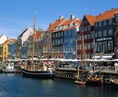 Nyhavn i Köpenhamn, Danmark