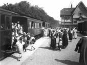 Säröbanans station 1923, Göteborg