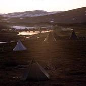 Lappkåtor, Lappland