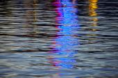 Spegling i vattenyta