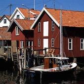 Sjöbod i Kyrkesund, Bohuslän