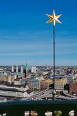 Stjärna i Stadshustornet, Stockholm