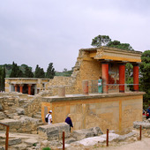 Knossos on Crete, Greece