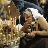 Påskmässa i Jerusalem, Israel