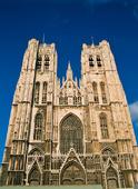 St Michel katedralen i Bryssel, Belgien