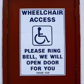 Handikappskylt, USA
