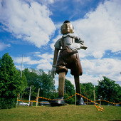 Pinocchio staty i Borås, Västergötland