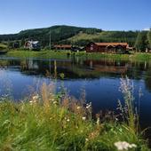 Västerdalälven vid Torgåsmon, Dalarna