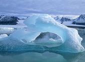 Isberg, Svalbard