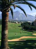 Golfbana i Spanien