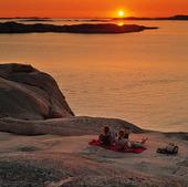 Solnedgång, Bohuslän