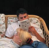 Par som läser