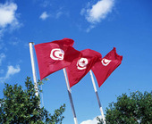Flags, Tunisia