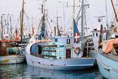 Fiskebåtar i Skagen, Danmark