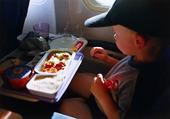 Måltid på flygplan