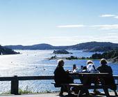 Rastplats vid Byfjorden,  Bohuslän