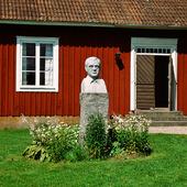 Vilhelm Moberg, Moshultamåla gamla skola i Småland