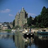 Slott i Josselin, Frankrike