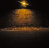 Tomma parkeringsplatser