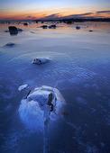 Havsis, Bohuslän vinter