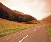 Landsväg, Skottland