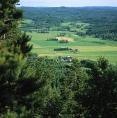 Vy från Tossebergsklätten, Dalsland
