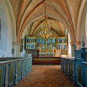 Interiör S:t Olofs kyrka, Skåne