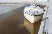 Infrysen segelbåt