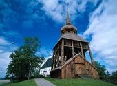 Klockstapel vid Frösö kyrka, Jämtland