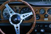 Instrumentpanel i bil