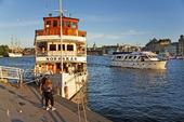 Skärgårdsbåt i Stockholm