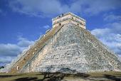 Pyramid Kukulkan i Chichen Itza, Mexico