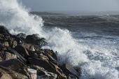 Storm vid havet