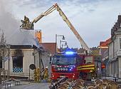 Brandbekämpning i Kungsbacka, Halland